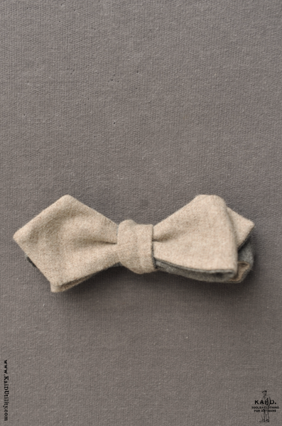 Reversible Wool Bowtie