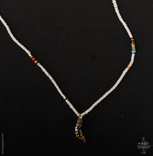 Handmade Beaded Necklace - Tangier