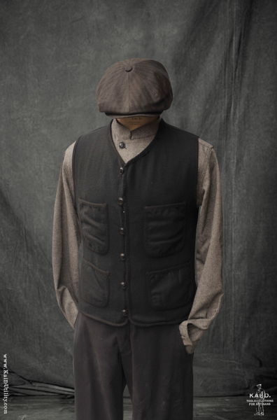 Cruiser Vest - Boiled Wool - M
