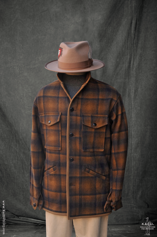 Great Smoky Wool Jacket - Rust - L
