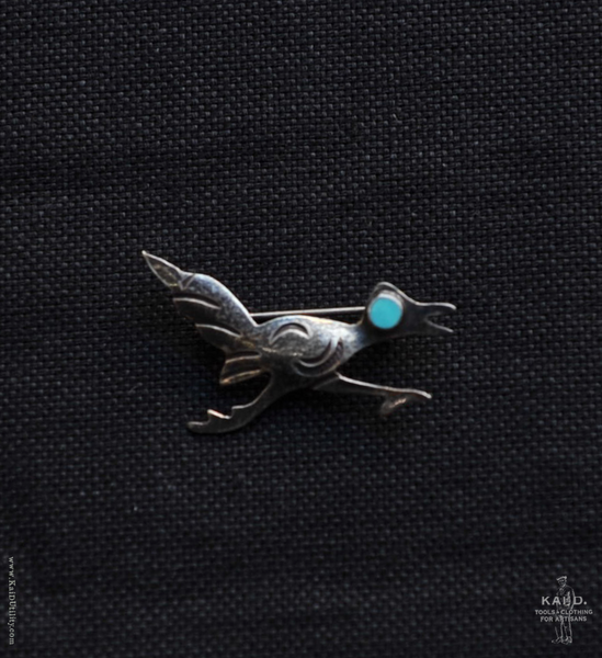 Sterling Silver Brooch - Road Runner II