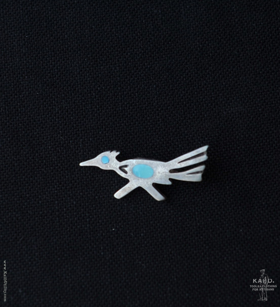Sterling Silver Brooch - Road Runner III