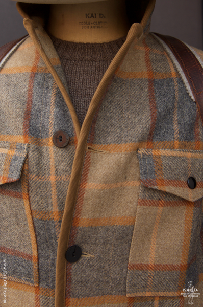 Great Smoky Wool Jacket - Tan - M
