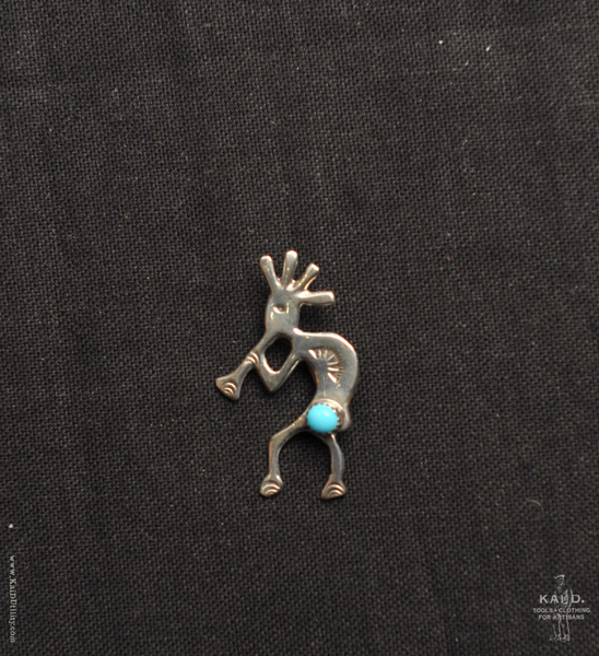 Sterling Silver Brooch - Kokopelli