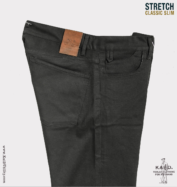 Stretch Twill Linden Pant - Graphite