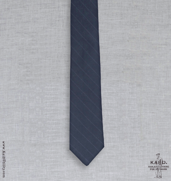 Cotton Tie - Wide Stripe
