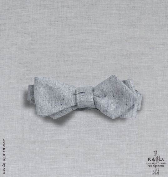 Faded Speckle Linen Bowtie