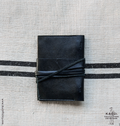 Handmade Leather Notebook Wrap