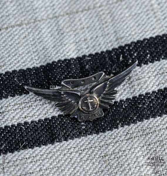 WWI Air Crew Aviation Wings Pin