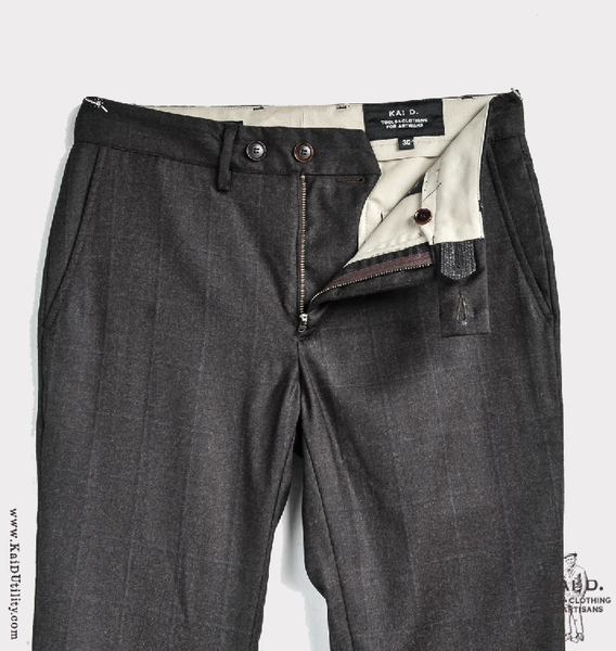 Super 120s Wool Kerouac Pant