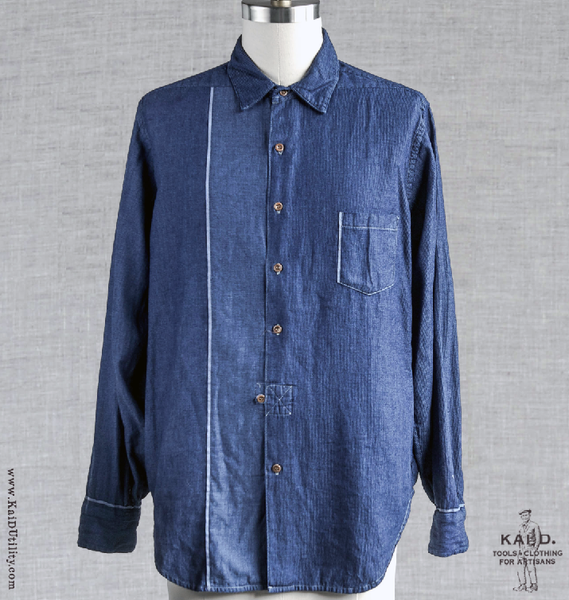 Wooster Placed Selvage Shirt