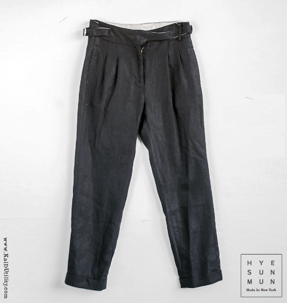Isa Washed Linen Pant