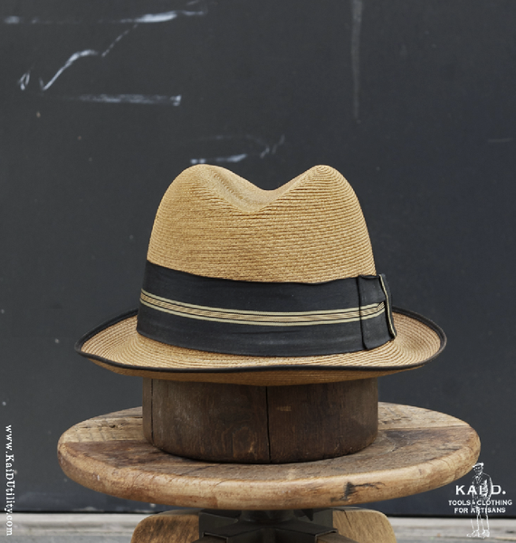 Hopkins Milan Straw Hat - 7 1/4
