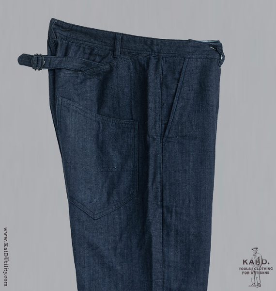 Emil Work Trousers - bleu - 38