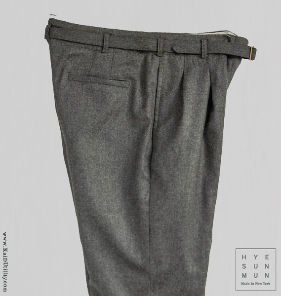Wool Cashmere McCartney Belted Pant