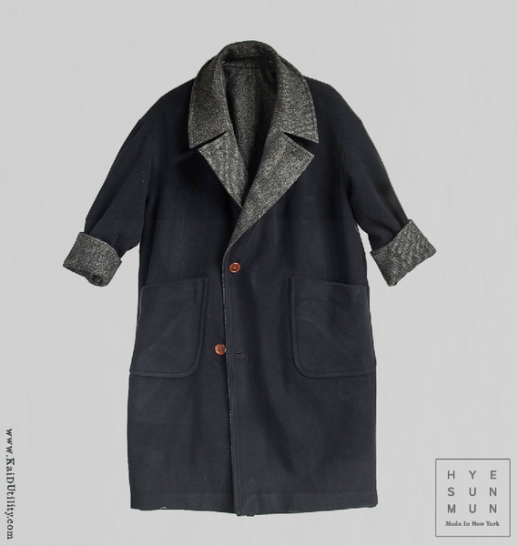 Anne Reversible Wool Coat