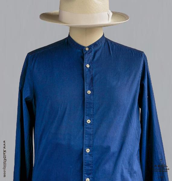 Ultra Light Indigo Lawn Shirt - 45