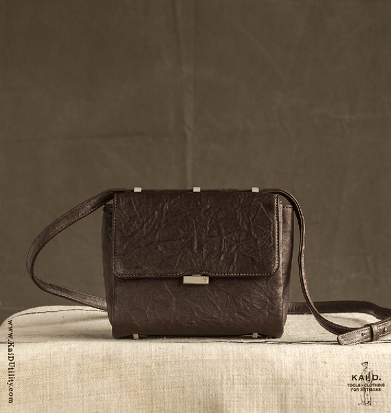 Vesper Leather Bag - Brown