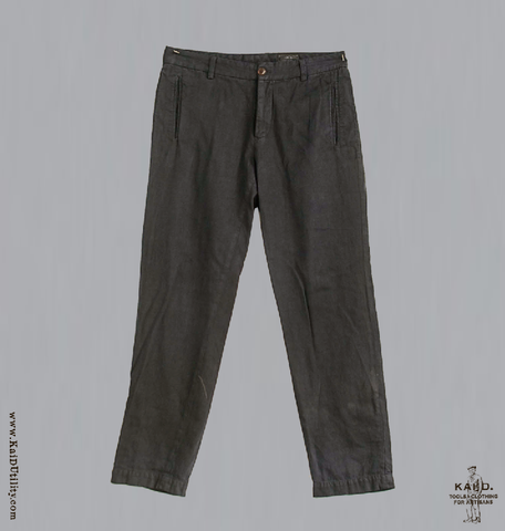 Bio Washed Linen Cotton Potter Pant