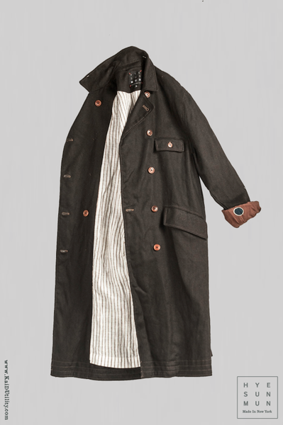 Women's Keaton Trench Coat - Heavy Linen - XS, S, M