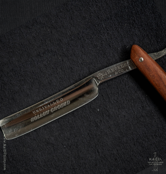 Restored Straight Razor - H.Boker