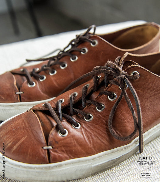 Pre-owned Buttero Leather Sneakers - 10