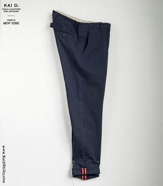 Linen Cotton Borough Pant
