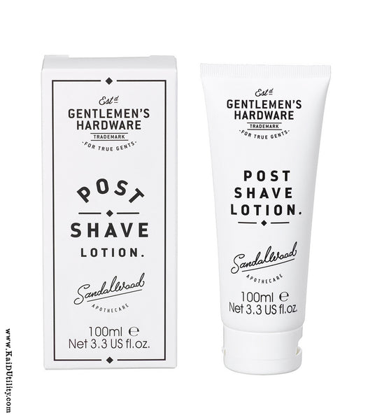 Post Shave Lotion