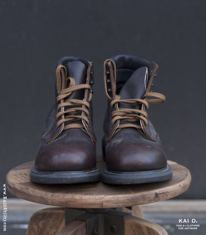 Pre-owned Red Wing Steel Toe Boots - 10 1/2