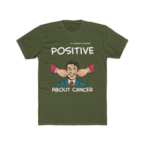 Positive About Cancer T-shirt (Dark)