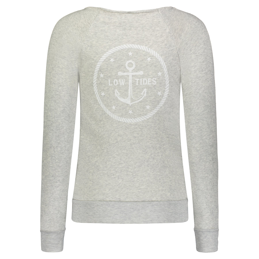 LowTides Eco-Fleece Sweatshirt, Outerwear, LowTides Ocean Products
