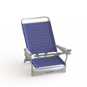 Sandbar Beach Chair in Lobster Navy, Beach Chair, LowTides Ocean Products