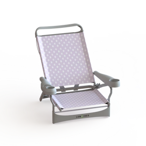 Sandbar Beach Chair in Starfish Lilac, Beach Chair, Lowtides Ocean Products, LowTides Ocean Products