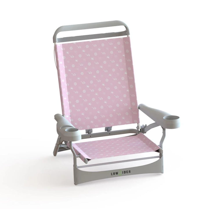 Sandbar Beach Chair in Summertime Pink, Beach Chair, LowTides Ocean Products