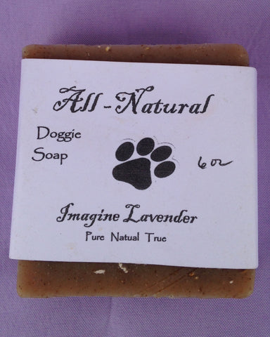 All Natural Doggie Soap