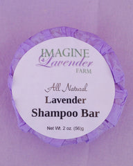 All-Natural Lavender Shampoo Bar