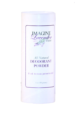 Natural Deodorant Powder