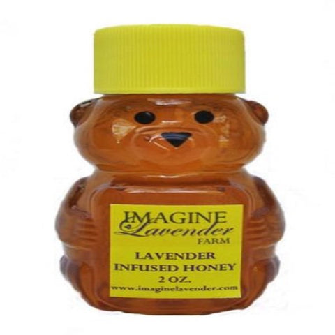 Lavender Infused Honey in Bear Container