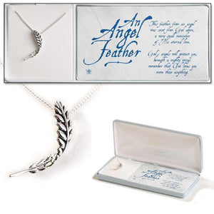 "Necklace-""An Angel Feather"""