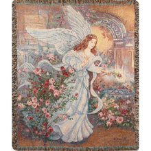 Load image into Gallery viewer, Inspirational Throws ~ Angel of Love