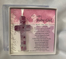 Load image into Gallery viewer, Ornament ~ Baby Cross (Boy and Girl available)
