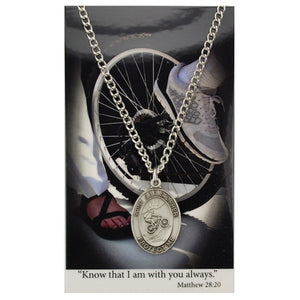St. Christopher Sports Medal ~ Boys Biking
