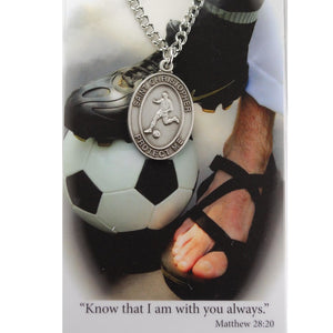St. Christopher Sports Medal ~ Boys Soccer