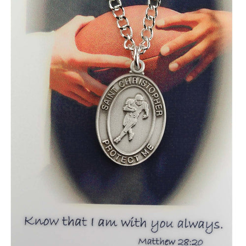 St. Christopher Sports Medal ~ Boys Football