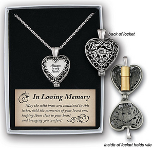 Memorial Locket - Always in my Heart