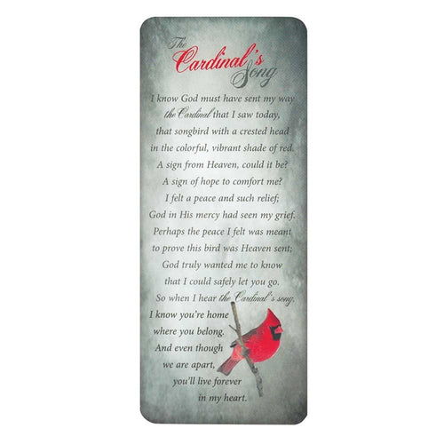 Bookmark - The Cardinal's Song