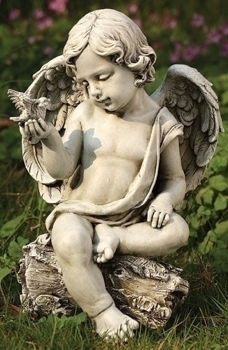 Cherub with Dove