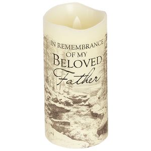 "Everlasting Glow 6"" Candle ~ ""Father"""