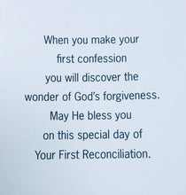 Load image into Gallery viewer, Greeting Card ~ First Reconciliation/Penance