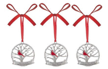 Load image into Gallery viewer, Ornament ~ Cardinal Memorial Ornaments (multiple verses)